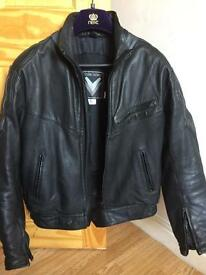 Motorcycle Leather Jacket (Frank Thomas)