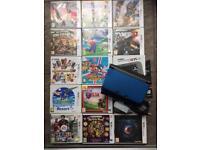Nintendo 'New' 3DS XL Bundle, VGC, 13 Games, Case, Covers ETC