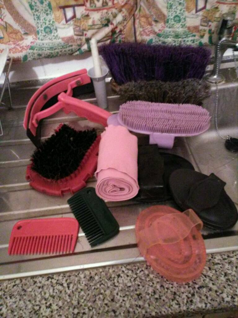 Horse grooming kit SOLD