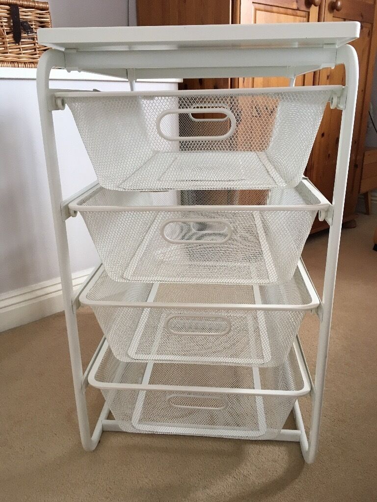 ikea algot frame drawer set 2 units with 4 mesh basket
