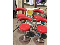 Bar stools £20 for 4