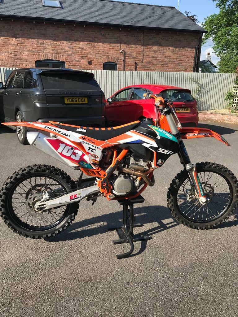 Ktm sxf 250 Motocross bike for sale , 2015 250 electric start