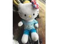 Build a bear hello kitty with clothes