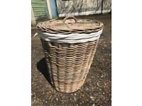 Laundry basket as new with removable washable interior