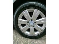Alloy Wheels 5 stud Mercedes/VW