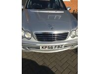 Silver Mercedes c180k - Lovely car and drive