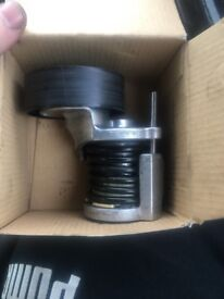 Audi A4 b6 tenshioner aux pulley brand new should fit all pd130 engine
