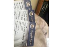 3x ICC CHAMPIONS TROPHY 2ND SEMI FINALS TICKETS