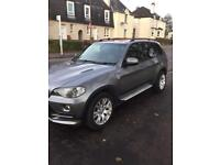 Top of the range 7 seater BMW X5 2007 automatic with a 5 digit private registration number