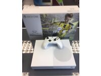 WHITE X BOX ONE S - 500GB - WHITE - USED - CAN BE EXCHANGED IN STORE -