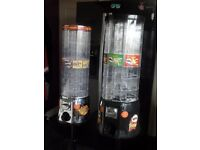 Tower Type Sweets and Pringles Vending Machines