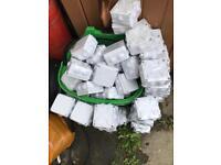 99 Weatherproof junction box's 100x100 x70 1p65
