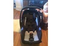 Recaro Privia Group 0+ Baby Car Seat, Graphite £50 (*baby not included)