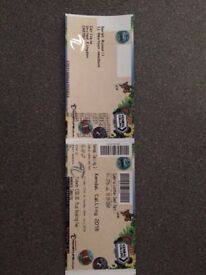 2x adult Kendal calling tickets