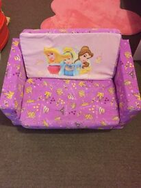 Childrens foam sofa bed