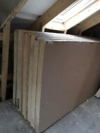 70mm 2.4x1.2 insulated plasterboards