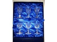 Thomas Webb Crystal Glass Set