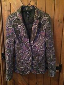 Psychedelic (Indian pattern) jacket size XS.