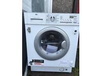 AEG integrates washer dryer
