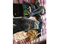 Boys next coats and jeans! Size 18-24 months.