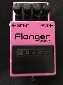 Boss 1981 Vintage BF-2 Flanger Guitar Pedal (BF2)