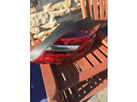 2017 plate Vauxhall insignia drivers side rear light