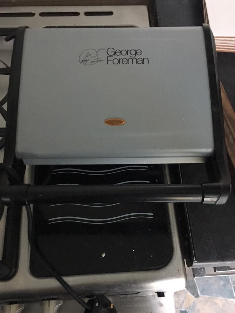 George Foreman Entertainment 7 panini press,Grill, new, never used