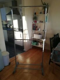 Large clothes frame
