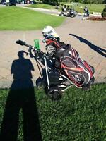 ELECTRIC GOLF CADDY  WITH REMOTE CONTROL