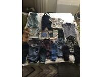 Baby boys bundle of clothes