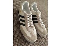 Adidas Dragon (unused, white, UK 9.5)