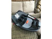 Cybex Q car seat with base and adapters.