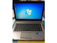 "hp elitebook 8470p core i5 @ 2.60ghz (4gb,320gb) 14"" screen with camera 3rd generation"