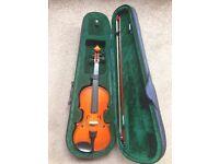 Violin for Sale -1/2 size (suit kids P4-7)