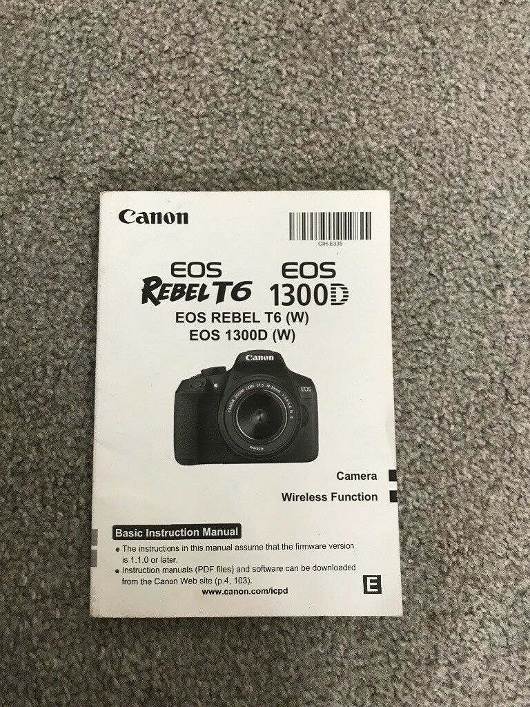 Cannon EOS 1300D DSLR Camera | in Portsmouth, Hampshire | Gumtree