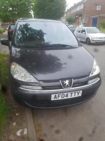 Peugeot 807 8 seater