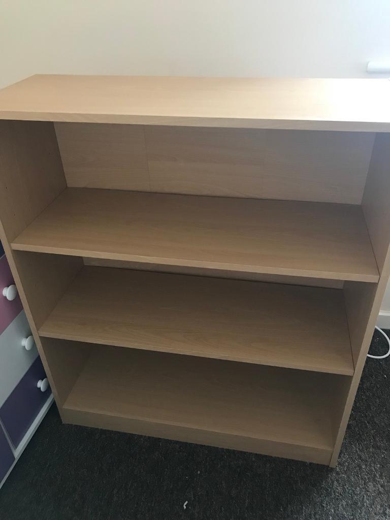 3 tier book shelf