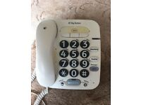 BT 100 big button corded phone