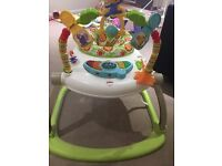 Fisher Price - rainforest spacesaver jumperoo