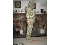 SOFT SHELL CAMO HUNTING SUIT