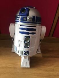 R2d2 interactive talking and moving figure