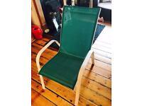 6x brand new garden chairs