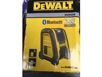 Brand new dewalt Bluetooth speaker