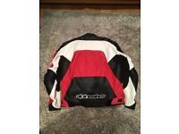 Alpinestars leather jacket size xl