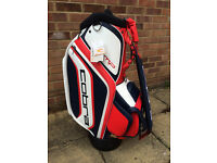 Cobra AMP Tour bag - red,white and navy blue