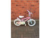 "Girls bike 14""wheels size"