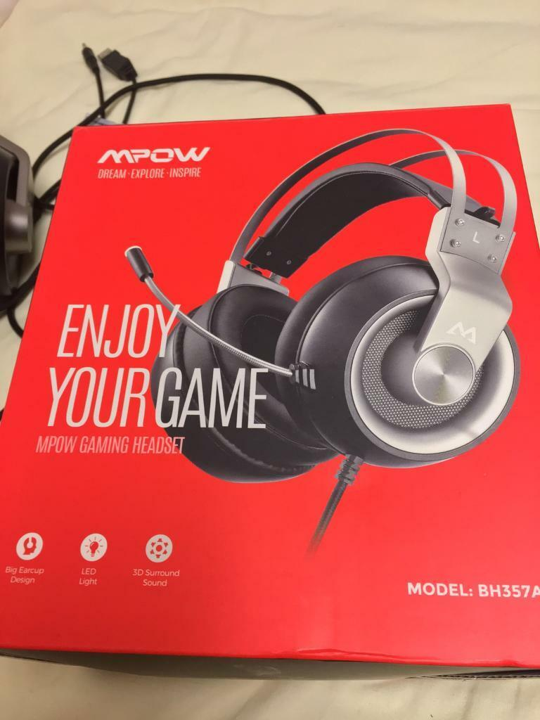 MPOW gaming headset | in Leicester, Leicestershire | Gumtree