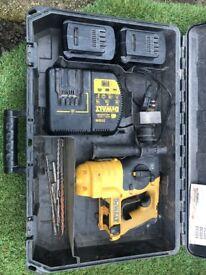 24 volt sds dewalt drill