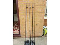 Daiwa infinity carp rods