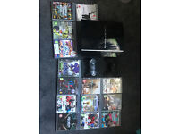 PlayStation 3, 2 Controllers, 14 Games